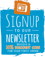 sign up today for our newsletter & receive 10% Discount CODE